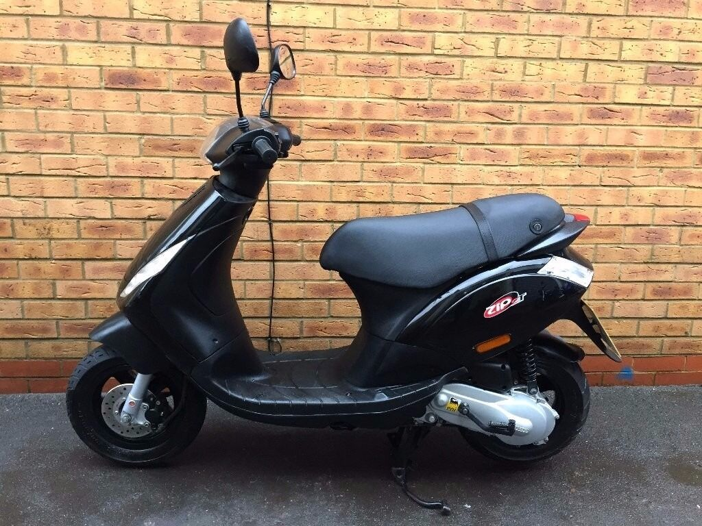piaggio zip 50 2t 50cc 2015 plate 2t serviced in. Black Bedroom Furniture Sets. Home Design Ideas