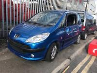 Very low miles 2006 Peugeot 1007 1.4 automatic STARTS but dose NOT drive spares or repair