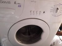 Servis 1400RPM 6Kg Load Cold Fill Washing Machine