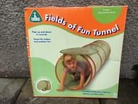 Child's tunnel and tent.