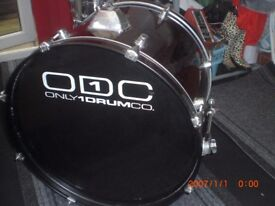BASS DRUM 22 INCH BY ONE DRUM COMPANY