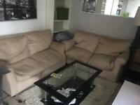 Free free free 2 seater sofa x2