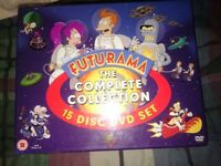 Futurama complete boxset