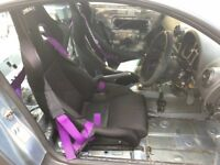 Corbeau dfx bucket seats