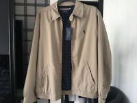 Ralph Lauren khaki windcheater jacket.