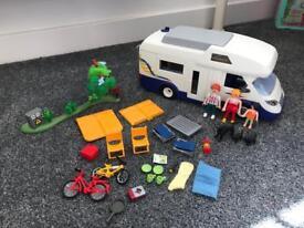 Playmobil Campervan and camping set ✨