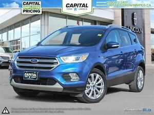 2017 Ford Escape Titanium 4WD **Remote Start-Rear Cam-Nav**