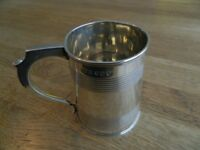 William Bateman. Solid Silver Christening Mug. Dated 1814
