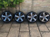Vw golf r mk7 mk7.5 18 Cadiz alloy wheels 5x112