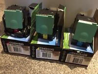 Lexmark cartridges x3