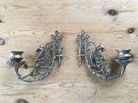 Victorian Style Dragon Candlestick holders for Piano