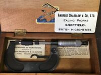 Micrometer - Ambrose Shardlow & Co. Ltd (Estate Sale)