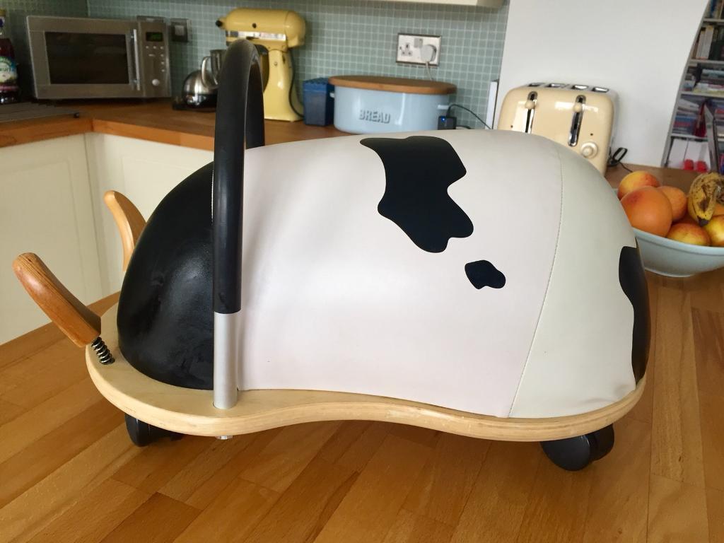 Large cow Wheelybug