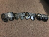 4 different styles RayBan sunglasses used