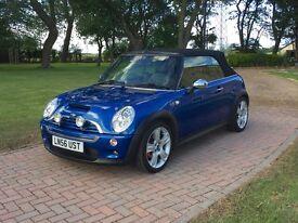 Mini Cooper S Convertible Blue - Low Mileage