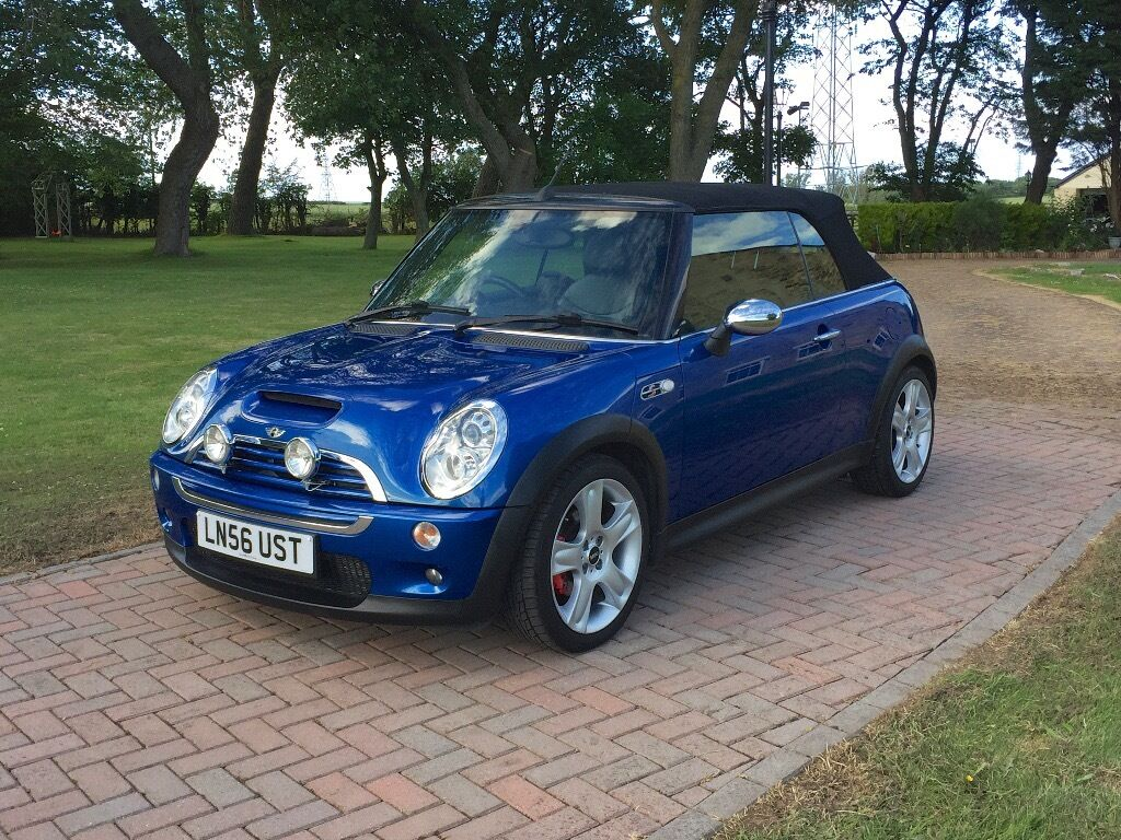 Mini Cooper S Convertible Blue Low Mileage