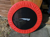 Fitness Trampoline, A few scuffs but working as new.