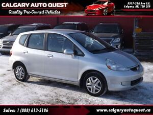 2007 Honda Fit DX // 5 Speed Manual // Hatchback
