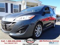 2012 Mazda MAZDA5 GT Heated Seats + Alloys $118.29 BI WEEKLY!!!