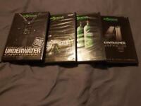 Korda underwater DVD's 1-4