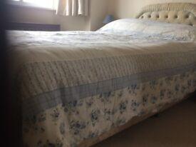 Double bedspread £5