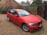 2011 60 BMW 3 Series 2.0 318d SE Touring 5dr! ONE FORMER KEEPER! FULL HISTORY! £30 TAX!