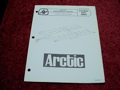 Arctic Cat 1977/78 Arctic 4 Place Trailer Model 0250-296 OEM Parts Manual #348