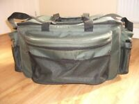 Fishing Carryall Large Green Tackle Holdall