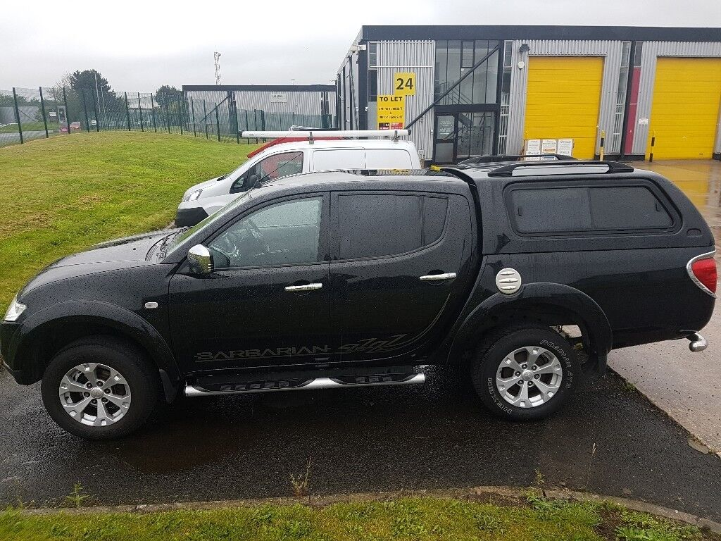 Top of the range L200 Barbarian Double Cab pick up.