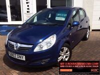 2007 07 VAUXHALL CORSA 1.4i 16v CLUB~LOW MILES~FSH~2 KEYS~