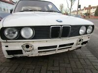 bmw e30 preface headlights / valance /grills