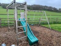 Climbing frame/ swings/ slide