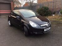 VAUXHALL CORSA 1.3 CDTI SXI FULLY LOADED ONE YEAR MOT CHEAP ROAD TAX & INSURANCE