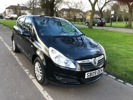 2009 Vauxhall Corsa 1.2 i 16v Life 5dr Full Service History Fully HPI Clear 1 Owner @07725982426@