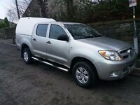 Toyota HI LUX 2.5 Double Cab 4WD Pick Up GREAT LOOKING SOLID RELIABLE PICK UP 56 PLATE DEC 2006