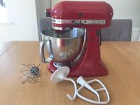 KitchenAid Artisan Mixer Red - excellent condition and working order