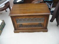 OLD CHARM OAK TV CABINET