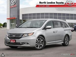 2014 Honda Odyssey Touring Top pick for saftey and infotainme...