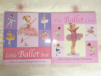 CHILDREN'S BOOKS - LITTLE BALLET STAR AND THE BALLET CLASS