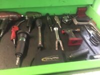 Snap on tools and box