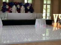 Dance floors,decor Hire,Venue decoration,Throne chair hire,chair covers