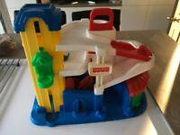 Fisher Price, Toy Garage .