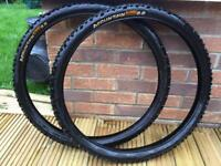 Continental Mountain King 2.2 MTB tyres