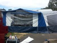NR Awning for Eriba ETC. With Tall Bedroom Annex