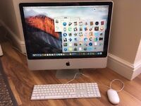 Apple iMac 24' Intel dual core 2.93GHZ CPU, 4GB ram, 1TB hard drive, GeforceGT 120, Boxed