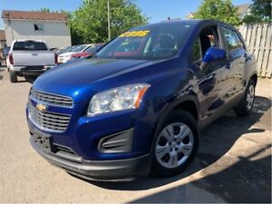2014 Chevrolet Trax LS RARE 6 SPEED STANDARD SHIFT
