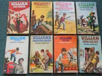 COLLECTION OF 8 WILLIAM PAPERBACK BOOKS -RICHMAL CROMPTON - VINTAGE