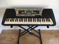 Yamaha PSR-350 Workstation Keyboard (Perfect for Beginners)