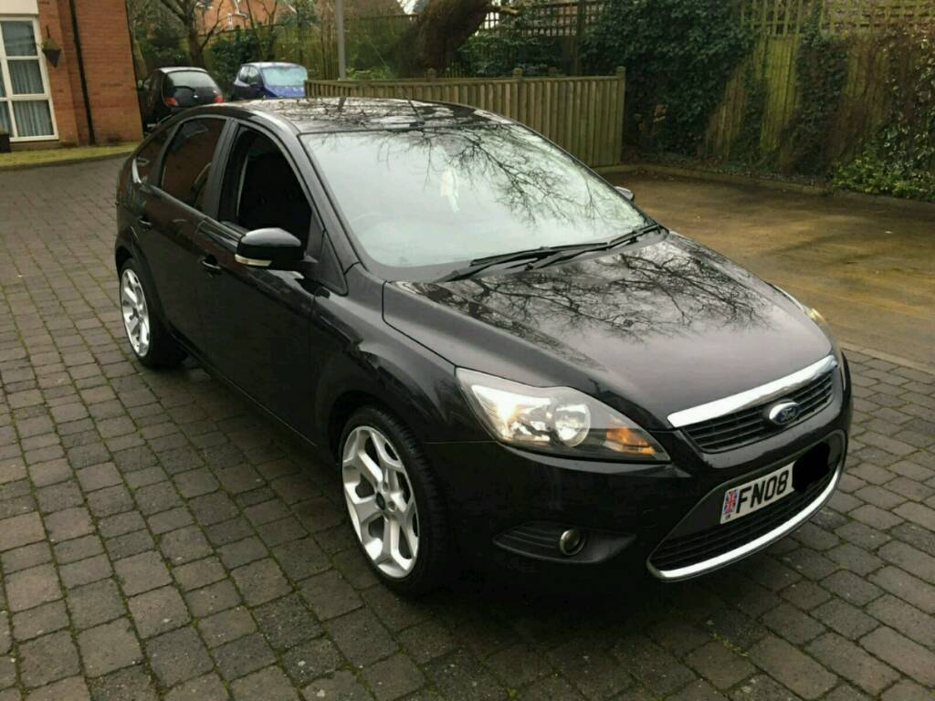 ford focus titanium 2008 1 6 petrol in aigburth merseyside gumtree. Black Bedroom Furniture Sets. Home Design Ideas