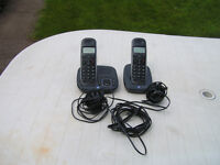 BT CONCERO 1400 TWIN DIGITAL DECT CORDLESS PHONE WITH ANSWER MACHINE